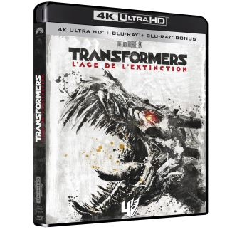 TransformersTransformers 4 L'âge de l'extinction Blu-ray 4K Ultra HD