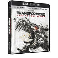 Transformers 4 L'âge de l'extinction Blu-ray 4K Ultra HD