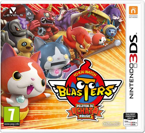 Yo-Kai Watch Blasters : Peloton du chat rouge 3DS