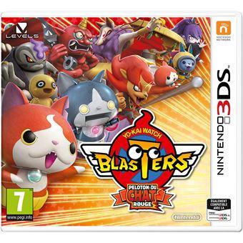 Yo-Kai Watch Blasters : Peloton du chat rouge 3DS