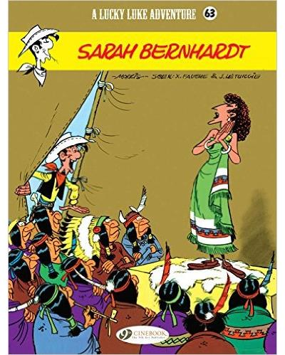 Lucky Luke - tome 63 Sarah Bernhardt