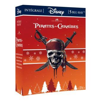 Pirates des CaraïbesCoffret Pirates des Caraïbes 5 Films Blu-ray