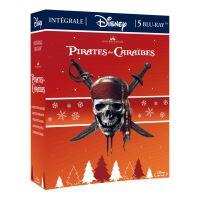Coffret Pirates des Caraïbes 5 Films Blu-ray