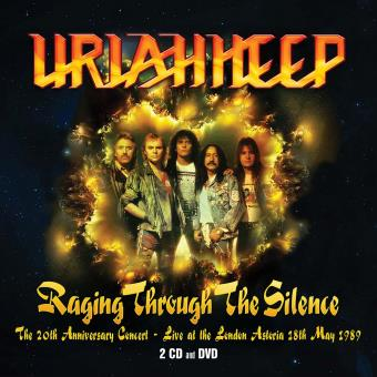 Raging Trough The Silence The 20th Anniversary Concert Live at the London Astoria 18th May 1999 Coffret Inclus DVD
