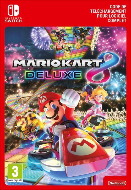 Code de téléchargement Mario Kart 8 Edition Deluxe Nintendo Switch