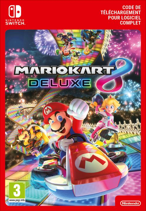 Code de téléchargement Mario Kart 8 Deluxe Nintendo Switch