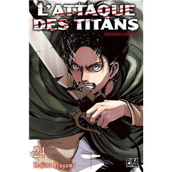 L'attaque des TitansL'Attaque des Titans T24 Edition limitée