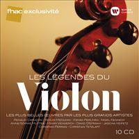 Les Légendes du violon Coffret 10 CD Exclusivité Fnac