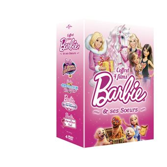 BarbieCOFFRET BARBIE ET SES SOEURS 4 FILMS-VF