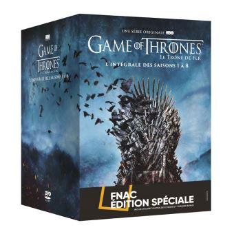 Le trône de ferCoffret Game of Thrones L'intégrale Edition Spéciale Fnac DVD