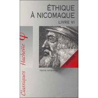 Ethique à Nicomaque Livre VI, Aristote