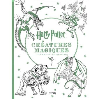 Coloriage En Ligne Harry Potter Gratuit.Harry Potter Livre De Coloriage Harry Potter Creatures Magiques