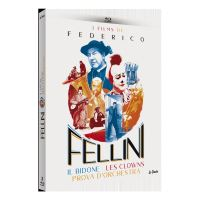Coffret Fellini 3 Films Blu-ray