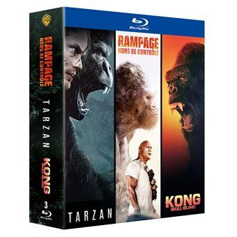 Coffret Grands singes 2.0 3 films DVD