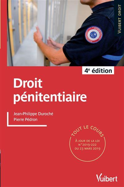 Droit pénitentiaire 2019/2020