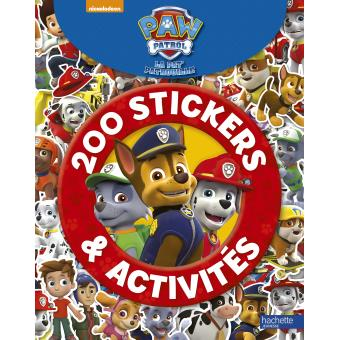 pat 39 patrouille 200 stickers et activit s paw patrol la pat 39 patrouille 200 stickers. Black Bedroom Furniture Sets. Home Design Ideas