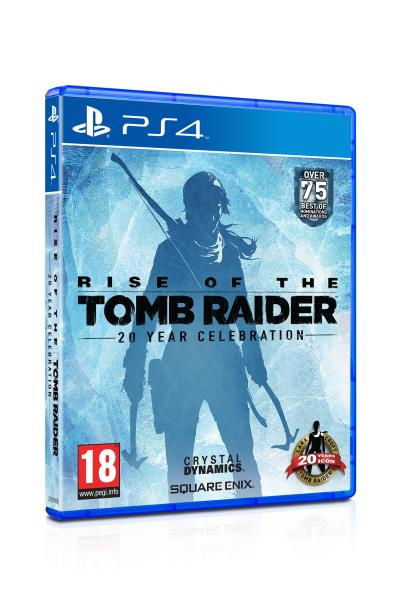 Rise Of The Tomb Raider 20ème Anniversaire PS4