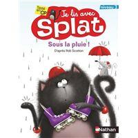 Je lis avec Splat : Sous la pluie
