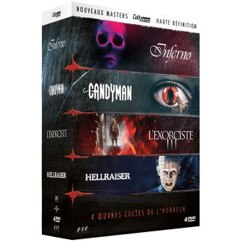 Coffret Cult Horror 2 4 Films DVD