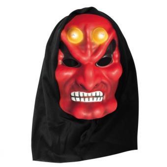 Masque enfant diable Rubie's avec cagoule