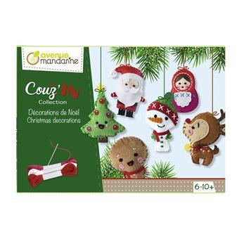 Boîte créative, Décorations de Noël Mini Couz'In