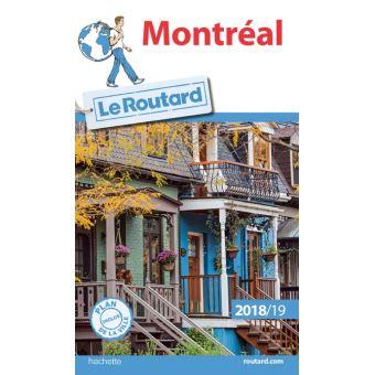 Guide du Routard Montréal 2018/19