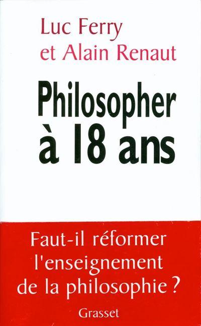 Philosopher à 18 ans