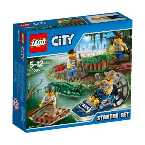 LEGO® City 60066 Ensemble de Démarrage de la Police