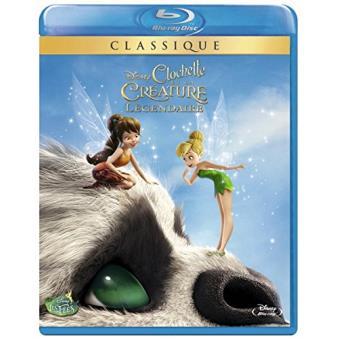 Fée ClochetteClochette et la créature légendaire Blu-ray