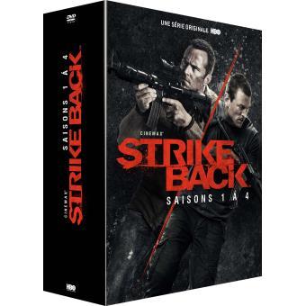 Strike BackStrike Back Saisons 1 à 4 Coffret DVD