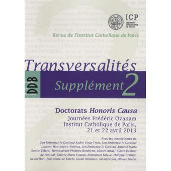 Transversalités, Supplément 2