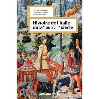 Histoire De L Italie Du Xve Au Xviiie Siecle