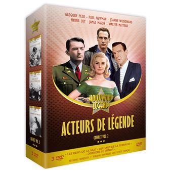 Coffret Acteurs de légende Volume 2 DVD