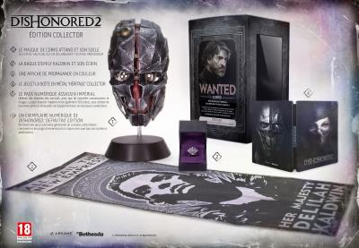 Dishonored 2 Edition Collector Xbox One