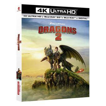 Dragons, cavaliers de BeurkDragons 2 Blu-ray 4K Ultra HD