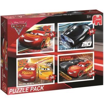 Disney Pixar Cars 3 - Puzzel Pack