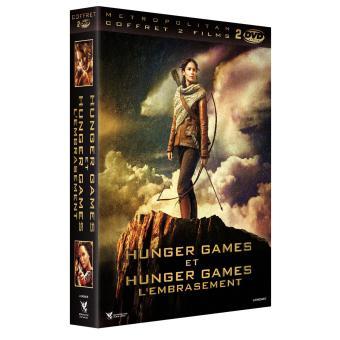 Hunger GamesHunger Games Coffret 2 Films DVD