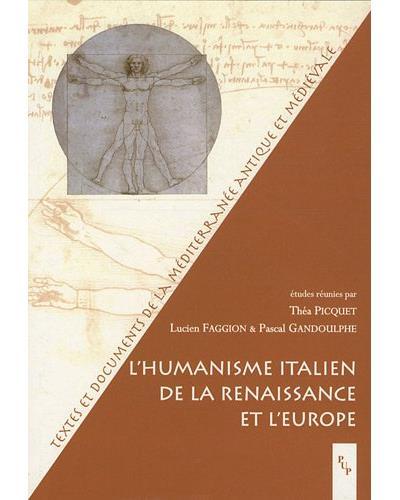 L'humanisme italien de la Renaissance et l'Europe