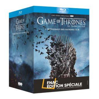 Le trône de ferCoffret Game of Thrones L'intégrale Edition Spéciale Fnac Blu-ray