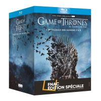 Coffret Game of Thrones L'intégrale Edition Spéciale Fnac Blu-ray