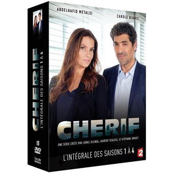 CherifCoffret Cherif Saisons 1 à 4  DVD