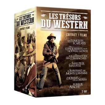 Coffret Les Trésors du Western 7 Films DVD