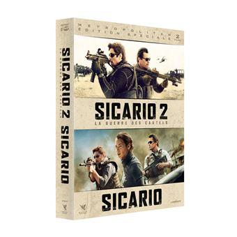 SicarioCoffret Sicario et Sicario 2 La Guerre des cartels DVD