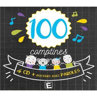 100 comptines/digipack