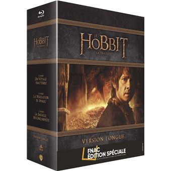 Bilbo le HobbitLe Hobbit La Trilogie Version longue Edition spéciale Fnac Blu-ray Inclus un livre