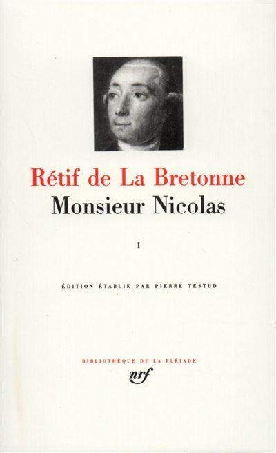 Monsieur Nicolas (Tome 1)