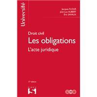 Droit civil. Les obligations - 17e ed.