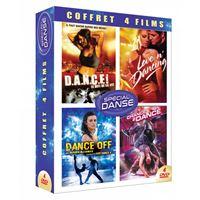 Coffret Danse 4 Films DVD