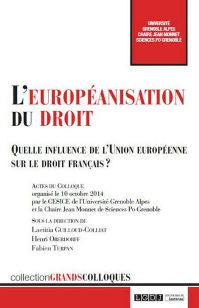 L'européanisation au droit
