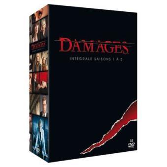 DamagesDamages - Coffret intégral des Saisons 1 à 5 - DVD
